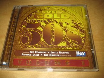 SOLID GOLD 50´S. VOLUME 1.  THE DRIFTERS,CONWAY TWITTY,SPIKE JONES ,M.FL.