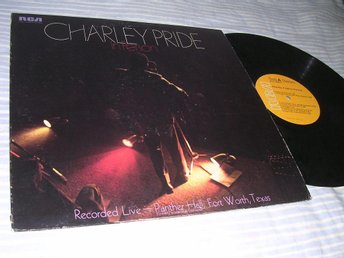 Charley Pride - In Person (LP) EX/VG+