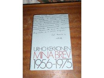 Urho Kekkonen - Mina brev 1956-1975 - Piteå - Urho Kekkonen - Mina brev 1956-1975 - Piteå