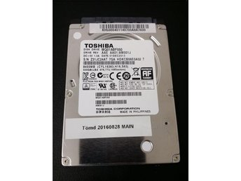 "2,5"" 500GB 5400rpm 8MB SATA lågprofil"