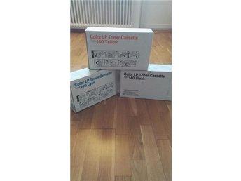 Type 140 Gult, blåt, svart Color LP Toner Cassette - Stockholm - Type 140 Gult, blåt, svart Color LP Toner Cassette - Stockholm
