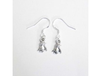 Pingvin örhängen / Penguin earrings