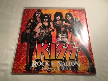 Kiss - Calender 2005 Rock the nation Sealed