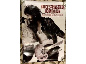 Springsteen - Rare Born to run promo poster