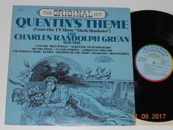 CHARLES RANDOLPH GREAN SOUNDE - Quentin's Theme, LP Ranwood USA 1969