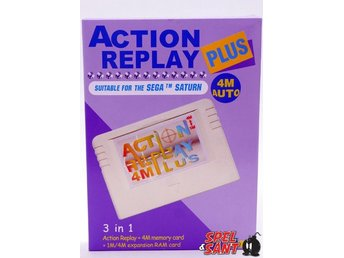 Action Replay Plus (Nyskick)