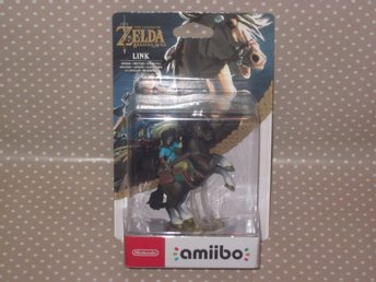 Amiibo - Link Rider - Zelda Breath of the Wild - NY!