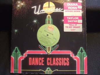 MAXI 12:A - DIANA ROSS. Upside down/TAYLOR DAYNE. Tell it to my heart. 1990