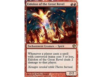 Magic the Gathering - Journey into Nyx - Eidolon of the Great Revel - FOIL