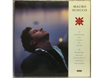 MAURO SCOCCO -- RECORD STATION, STAT 9, 1988 -- EX+