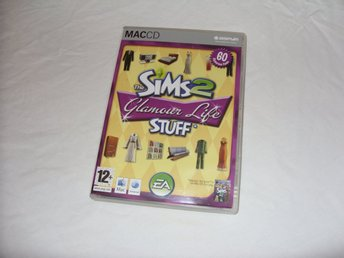 The Sims 2 Glamour Life Stuff Macintosh CD ROM Engelsk Mac Apple spel