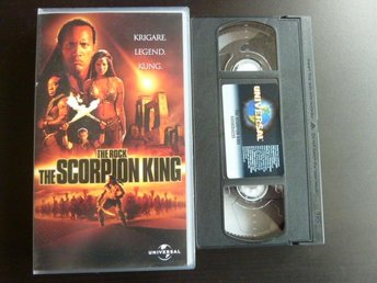 THE SCORPION KING,  VHS, FILM