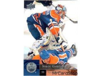 2009-2010 Upper Deck #448, Nikolai Khabibulin, Edmonton Oilers - Linköping - 2009-2010 Upper Deck #448, Nikolai Khabibulin, Edmonton Oilers - Linköping