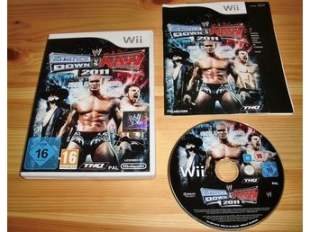 Wii: WWE Smackdown vs Raw 2011