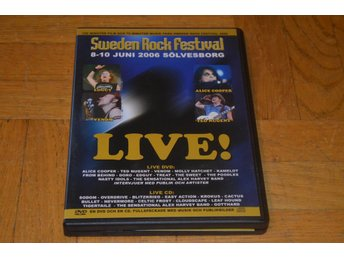 Sweden Rock Festival 2006 ( Alice Cooper Ted Nugent Krokus mm) - DVD 2-Disc