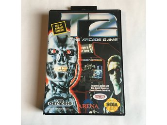 T2 The Arcade Game (Terminator 2) - SEGA MEGA DRIVE