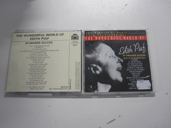 Edith Piaf - The Wonderful world of Edith Piaf