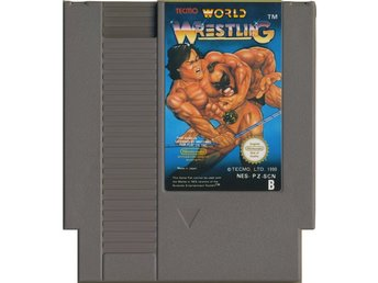 Tecmo World Wrestling - NES - Kassett