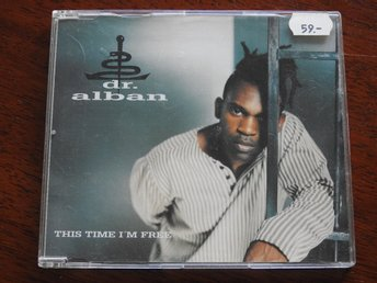 Dr Alban - This Time I'm Free CD Single 1995 5TRK