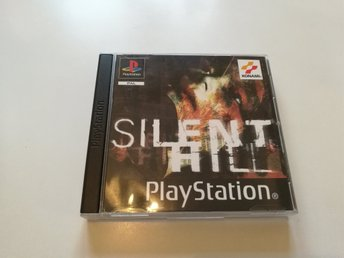 Playstation 1 Ps1 - Silent hill - Pal - Nyskick!