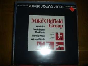 """12"" The Mike Oldfield Group -Mistake"