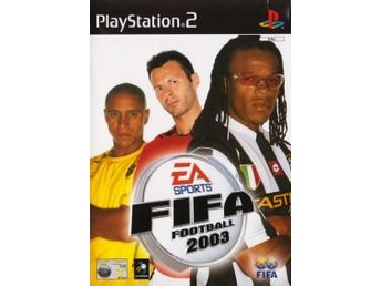 PS2 - Fifa Football 2003 (Ej bok) (Beg)