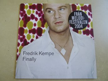 FREDRIK KEMPE Finally Melodifestivalen 2004 Singel CD