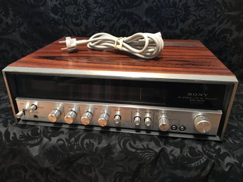 RETRO - SONY STR 6036 Fm stereo / fm- am RECEIVER - Teak chassi