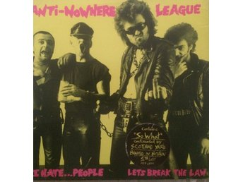 THE ANTI NOWHERE LEAGUE STREETS OF LONDON/SO WHAT