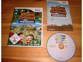 Wii: Animal Crossing Lets go to the city