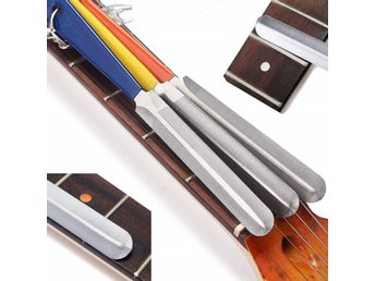3st Luthier Tool Steel Guitar Fret Nut File Key Chain Pendant Nail Puller