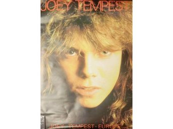 Europe -Huge 80s Joey Tempest poster 60x80cm Wings of tomorr