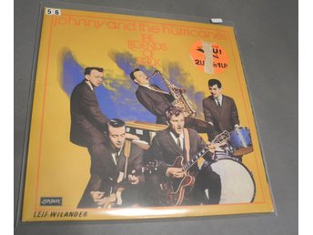 Johnny and the Hurricanes the legends of rock dubbel LP