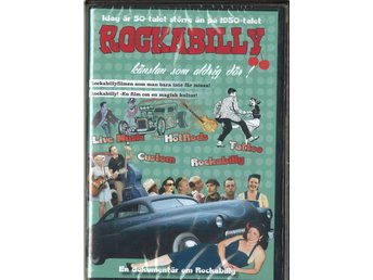 DVD Rockabilly Kanslan Som Aldrig Dör