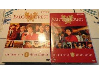 Falcon Crest - hela säsong 1 och 2 - svensk text - mycket fint skick - Helsingborg - Falcon Crest - hela säsong 1 och 2 - svensk text - mycket fint skick - Helsingborg