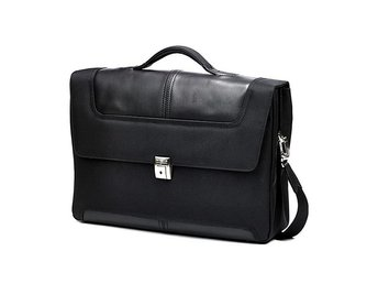 "SAMSONITE Sidaho Laptop Briefcase 15"" Black"