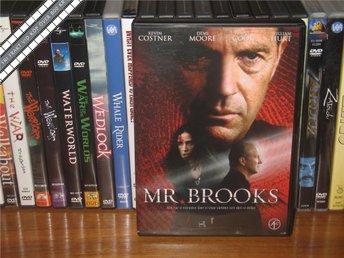 MR. BROOKS - Kevin Costner, Demi Moore *UTGÅNGEN DVD* - Svensk text - åmål - MR. BROOKS - Kevin Costner, Demi Moore *UTGÅNGEN DVD* - Svensk text - åmål