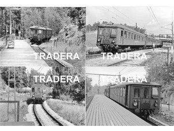 Saltsjöbanan 1976, 12 st svart-vita fotografier, serie 9 - Danderyd - Saltsjöbanan 1976, 12 st svart-vita fotografier, serie 9 - Danderyd
