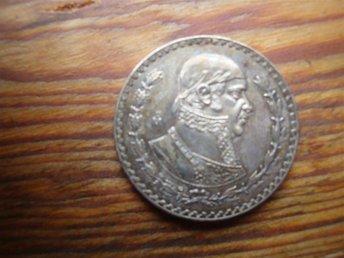 Un peso 1962.Silver 15 gram - Vittsjö - Un peso 1962.Silver 15 gram - Vittsjö