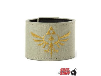 Zelda Canvas Wristband Grön