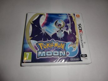 Pokemon Moon Inkl Pokemon badboll  NYTT