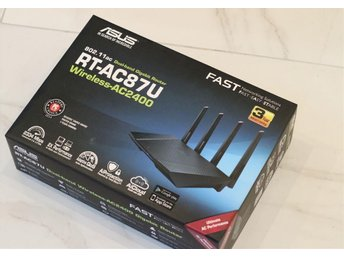 ASUS RT-AC87U AC2400 4x4 Dual-Band Router