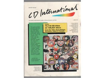 CD International Winter 1991/92