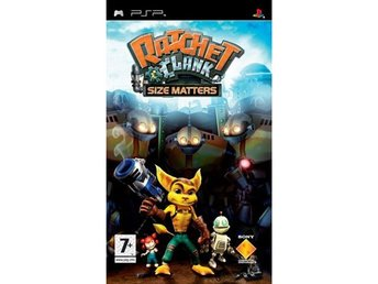Ratchet and Clank - Size Matters - Playstation PSP
