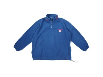 Polo Sport Fleece 3/4 Zip Pullover Blå