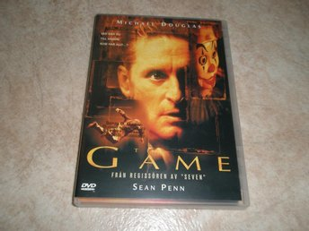 The Game (1997), Utgått/OOP, Michael Douglas, Sean Penn