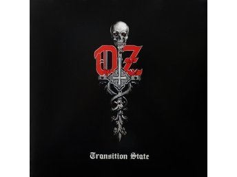 OZ-Transition State-Ny LP LTD 250ex Color Red Vinyl-Gatefold Finnish Cult Metal