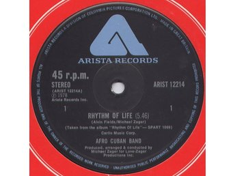 "Afro-Cuban Band – Rhythm of life (Arista 12"")"