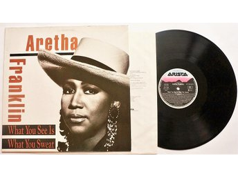 ** Aretha Franklin ‎– What You See Is What You Sweat **