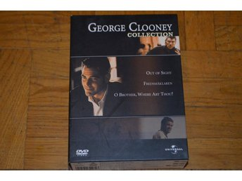 Out Of Sight / Fredsmäklaren / O Brother Where Art You - George Clooney Box DVD